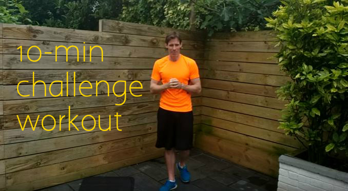 10-Minute Challenge Workout
