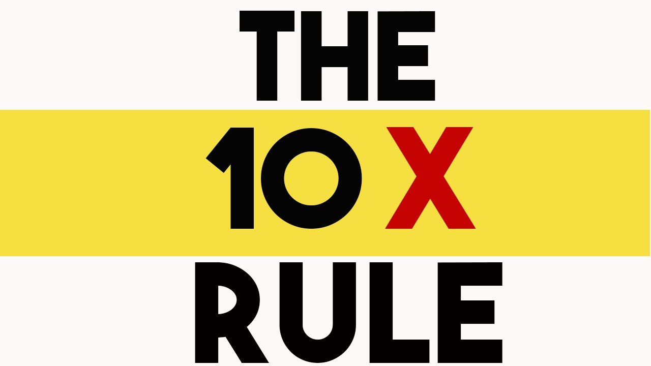 10X Your Fat Loss With The 10X Rule