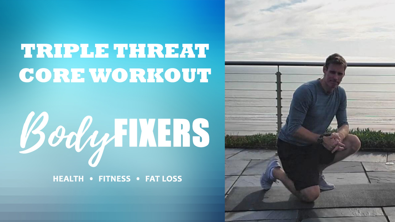 Triple Threat: 3-Minute Core Workout